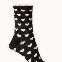 Romantic At Heart Crew Socks