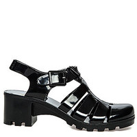 The Jealousea Sandal in Black
