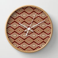 Rhombus Wall Clock by Texnotropio