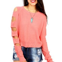 Holy Knits Sweater | Trendy Knits at Pink Ice