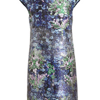 MARY KATRANTZOU | Woven Embellishment Printed Dress | Browns fashion & designer clothes & clothing