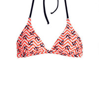 Delia's Nautical Neon Halter -