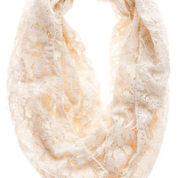 SAVANNAH LACE LOOP SCARF
