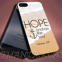 Hebrews 6,19 - iPhone 4/4s/5c/5s/5 Case - Samsung Galaxy S3/S4 Case - Black or White
