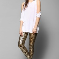 Betsey Johnson Liquid Leopard Legging - Urban Outfitters
