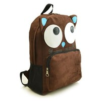 Cute Cartoon Monster Backpack School Book Shoulder Bag