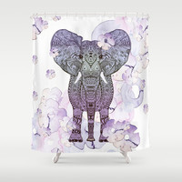 FLOWER SHOWER  Shower Curtain by Monika Strigel