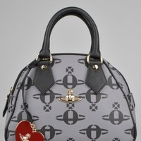 Vivienne Westwood All Over Orb Yasmin Bag 13397 - Grey