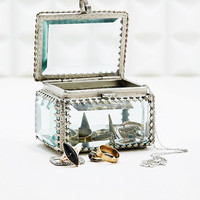 Vintage Glass Jewellery Box - Urban Outfitters