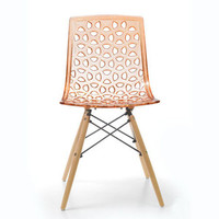 Lattice Chair in Orange
