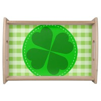St Patrick's Day Serving Tray