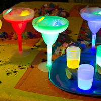 Glowing Party Drinkware @ Sharper Image
