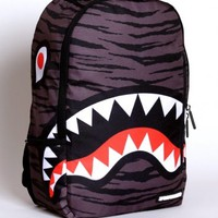 Sprayground Tiger Shark Deluxe Backpack
