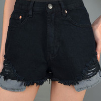 Destroyed High Waisted Denim Cutoffs | Bloody-Fabulous