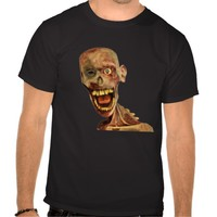 Creepy Zombie Face T-Shirt for Men, Women and Children who are fans of horror