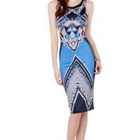 Sublimation Print Tank Dress