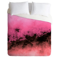 Caleb Troy Zero Visibility Highlighter Dust Duvet Cover
