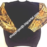 Jungle Print Crewneck