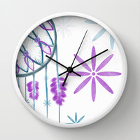 Catch My Dreams Wall Clock by Intrinsic Journeys