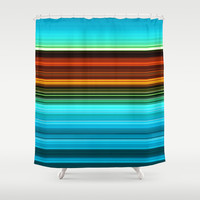Jaywalk. Shower Curtain by John Medbury (LAZY J Studios)