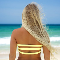 Daze - Tube Top Yellow