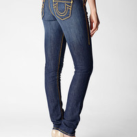 Hand Picked Skinny Brown Gold Mega T Womens Jean - Skinny | True Religion Brand Jeans