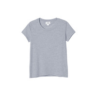 Sine tee | Denim Mix | Monki.com