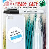 The Erase iPhone 5 Case - White