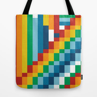 Fuzzline #4 Tote Bag by Project M