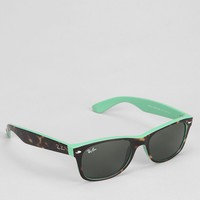 Ray-Ban New Matte Blue Wayfarer Sunglasses - Urban Outfitters