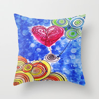 Hope Floats (daydream) Throw Pillow by DuckyB (Brandi)