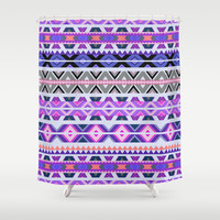 Mix #548 Shower Curtain by Ornaart