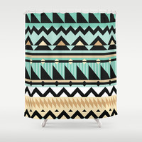 Mix #534 Shower Curtain by Ornaart