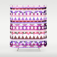 Mix #538 Shower Curtain by Ornaart