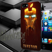 Iron Man Apple Case For iPhone 4/4s, iPhone 5/5S/5C, Samsung S3 i9300, Samsung S4 i9500 *rafidodolcasing*