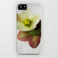 Vintage Helleborus  - JUSTART © iPhone & iPod Case by JUSTART