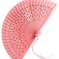 ModCloth Hearts Set A-Flutter Fan