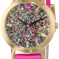 kate spade new york Women's 1YRU0269 Glitter Dial Metro Mini Watch