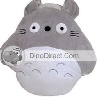 Multi Functional Totoro Shaped Cotton Lint Throw Pillow - DinoDirect.com