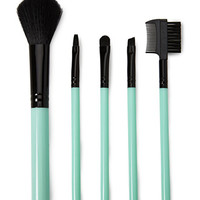 Kiss & Makeup Cosmetic Brush Set