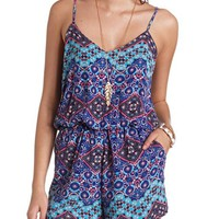 STRAPPY BACK PRINTED ROMPER