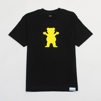 OG Neon Bear Logo Tee in Black