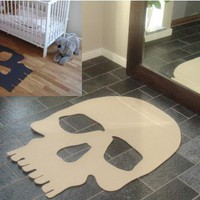 Skull Rug - Rug - - The Design Town