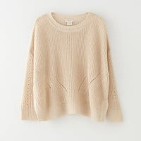 GRAHAM LINEN SWEATER