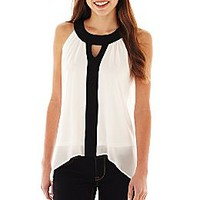 by&by Sleeveless Colorblock Top