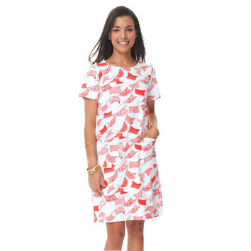Papel Picado Patch Pocket Dress