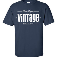 1984 Limited Edition Vintage 30th Birthday Party Shirt T-Shirt Tee Shirt T Shirt Mens Ladies Womens Funny Modern Tee B-202