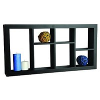 Welland 24 x 3 x 12 Inches Taylor Display Wall Shelf Decor Shelving Black