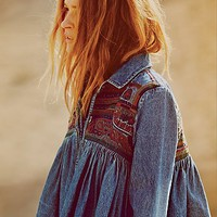 Free People Free to Roam Shirt Jacket