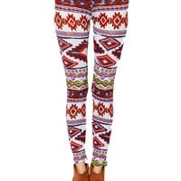 Papaya Clothing Online :: BOHEMIAN PRINT LEGGINGS